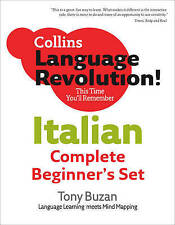 Italian: Complete Pack (Collins Language Revolution), Buzan, Tony, with Clelia B