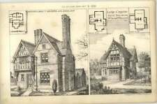 1879 Sexton's Lodge Near Leicester, Lodge, Coppins For Je Taylor