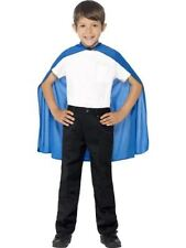 Polyester Cape Superhero Costumes for Boys