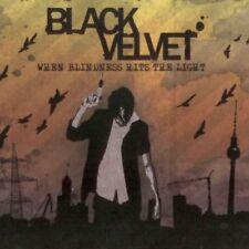 Black Velvet: When Blindness Hits The Light - CD Digipak  Rock, Punk & Hardcore