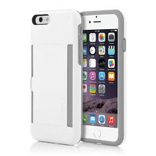 Incipio Credit Card Case with Integrated Stand for iPhone 6/6S - White/Grey
