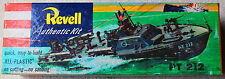 BOX LID Only Revell Torpedo Boat PT212 for Model Kit H30489 MultiColor CA  '53