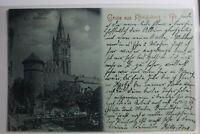 AK Königsberg i. Pr. Kgl. Schloss 1898 gebraucht #PG818