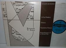 WS 189 Kenneth W Jones A Gay Psaltery Dialysis Serpentine Dances