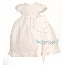 Baby girl christening dress 6-24 Months M301