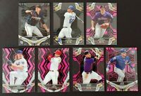 2019 Topps HIGH TEK BLACK PARALLEL PINK PARALLEL  YOU PICK COMPLETE YOUR SET