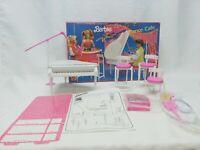 Mattel Barbie and the beat Dance Cafe Playset  no. 7445 Piano Juice Bar