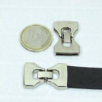 3 Cierres Para Cuero 33x18mm T456C Plata Tibetana Clasps Bijouterie Beads
