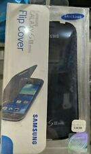 Samsung Galaxy S III mini Flip Cover - Pebble Blue