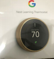 Google Nest T3032US Learning Thermostat 3rd Gen Smart Thermostat