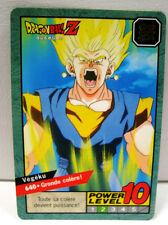 A880 Carte Dragon ball Z GT Super battle Power Level Card dbz N 640 Bandai 1995