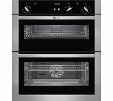 NEFF U17S32N5GB Built-under Double Oven - Stainless Steel A (CK1204)