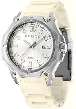 Police 13939JS-04 Protector White Bracelet Analogue Quartz 2Yr Guar RRP £125.00