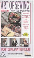 VHS Art of sewing volume 5 jacket details via the couture Sue Hausmann video PAL