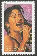 US 4499 Latin Music Legends Selena forever single MNH 2011