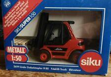SIKU Linde H80 forklift truck fork lift  MINT IN BOX