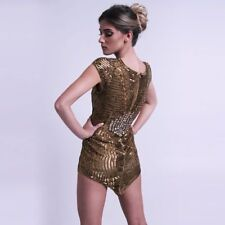 Gold Sequin Dress Size 10 Christmas Party