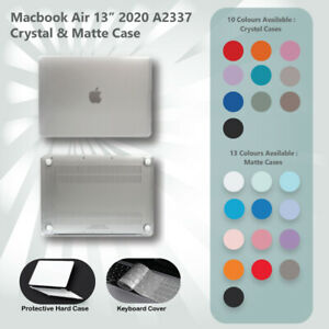 "2020 Apple Macbook Air 13"" A2337 Protective Hard Case + Keyboard Cover Latest"