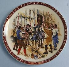 Wedgwood John Finnie Vintage China Plate 1989 The Bellringers #1690A EUC
