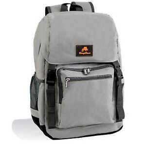 CampFeuer Kühlrucksack 20 Liter   leicht und wasserdicht   grau   *B-Ware*