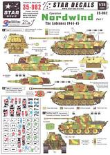Star Decals 1/35 OPERATION NORDWIND The Ardennes Offensive 1944