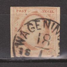 NVPH Nederland nr 2f TOP CANCEL WAGENINGEN (c-2) 1852 1e emissie Willem III