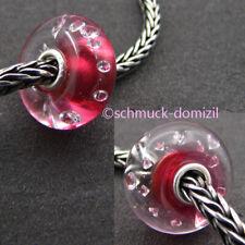 "TROLLBEADS ""Diamanten"" Bead Pink - The Diamond Bead - TGLBE-00017"