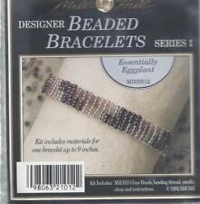 MILL HILL~ DESIGNER BRACELET KIT - ESSENTIALLY EGGPLANT - MHBB12