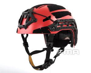 FMA Caiman Bump Helmet - RED (M/L) (2 Liners Options)