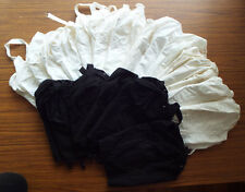 RESALE LOT 23 Vintage-New 1960's Do-All 470 Longline Cotton Bras Made in USA