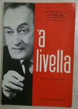TOTÒ - 'A LIVELLA - Poesie Napoletane - Antonio De CURTIS,  Fiorentni Editr 1983