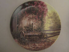 The Vintage Seed Planter collector plate Maurice Harvey Country Nostalgia
