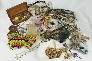 Job Lot Vintage & Modern Costume Jewellery, Necklaces, Bracelets, Pins, Earrings