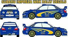 Subaru WRX Impreza DECALS WITH SHADOW - GRAPHICS - VINYL **ANY COLOUR**