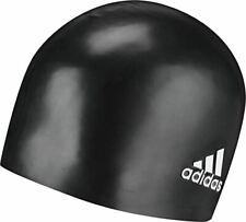 adidas Silicone Logo Swim Cap Black 802316