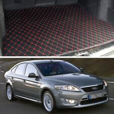 Premium Car Trunk Mat Leather Waterproof Fit for 2007-2012 Ford Mondeo