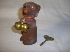 Hund mit Aufziehwerk - Uhrwerk , mechanisch