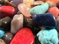 Tumbled and Polished Gemstones and Crystals - Size Medium (Size #4) - 1 LB Lots