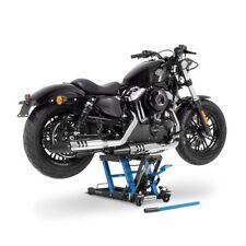 Bequille d'Atelier Cric Moto Ciseaux Hydraulique Lift ConStands L noir-bleu