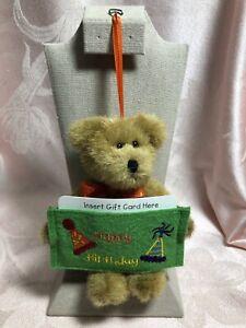 Boyds Bears Bear Gift Card Holder ~ Happy Birthday