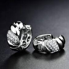 18K Gold and Diamond Hoop Earrings    327