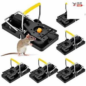 Werpower Piège à Souris, 6 Pièces Tapette à Rat Reutilisable, Piege a Rat Fa