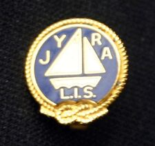 JUNIOR YACHT RACING ASSOCIATION Long Island Sound Pin