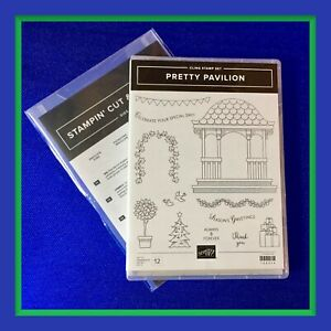 Stampin' Up! PRETTY PAVILION Stamps & PAVILION Dies ***NEW***