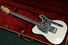 1996 USA AMERICAN FENDER TELECASTER SAGE GREEN BLACK PEARL WITH CASE NICE