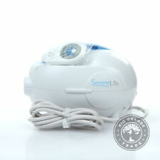 USED SereneLife PHSPAMT24HT Electric Bathtub Bubble Massage Mat in White
