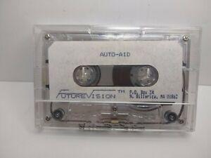 VERY RARE ADAM Coleco Auto Aid Future Vision Data Tape