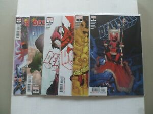 """2020 Deadpool HAIL TO THE KING """"Complete Set"""" of 6 Comics (1-2-3-4-5-6) NM/1ST!!"""
