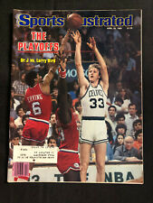 SPORTS ILLUSTRATED APRIL 28, 1980 - THE PLAYOFFS DR. J VS. LARRY BIRD