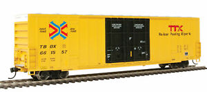 Walthers HO Scale 60' High-Cube Boxcar TTX/TBOX (Red/Next Load Any Road) #661557